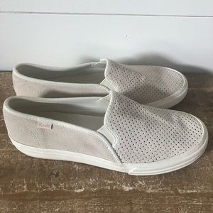 Keds Double Decker Perf Suede shoes
